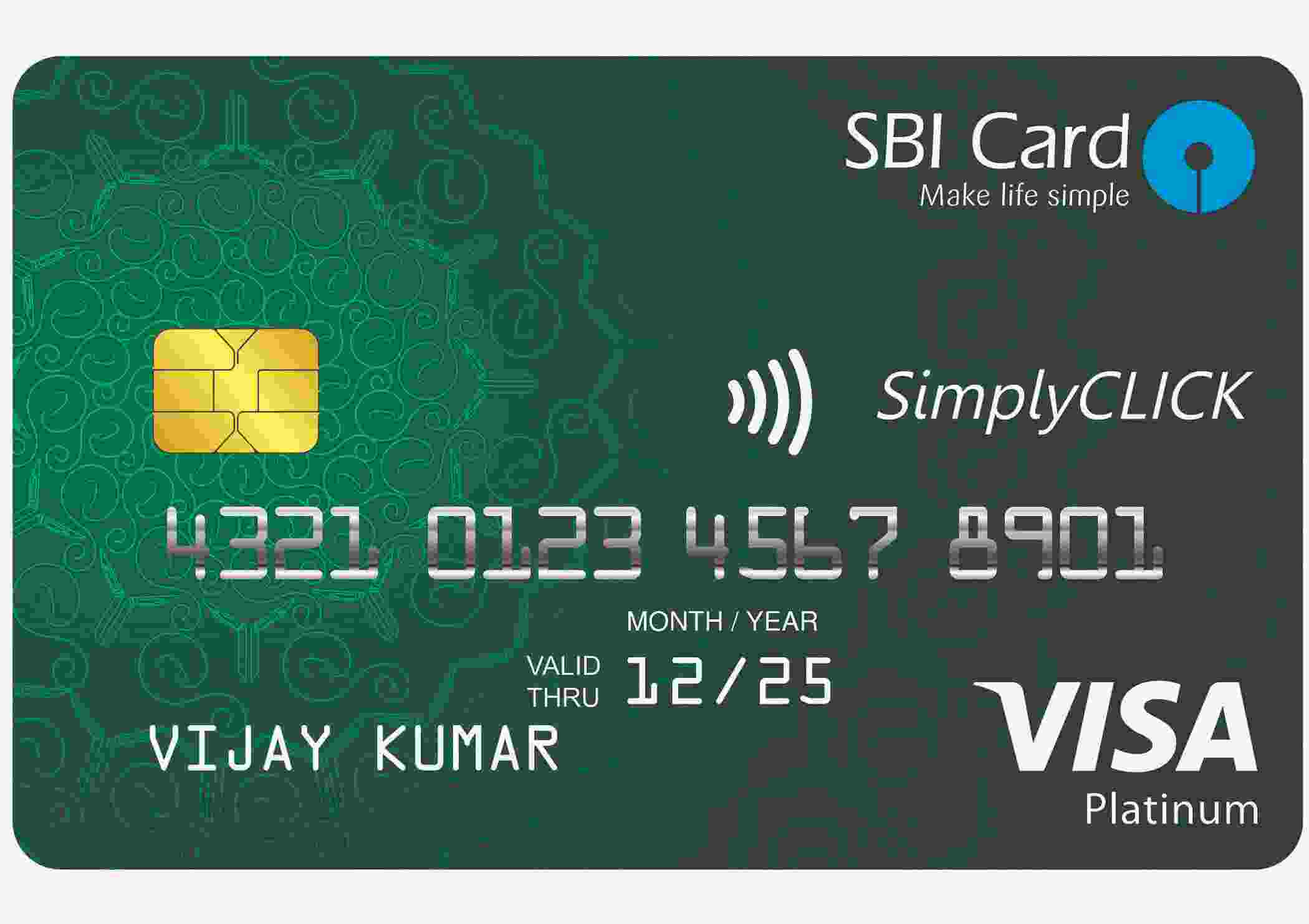 SimplyCLICK SBI™ Credit Card