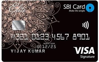 SBI Card ELITE