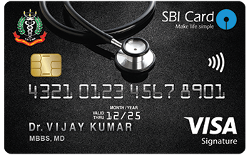 Doctor's SBI Card (in association with IMA)