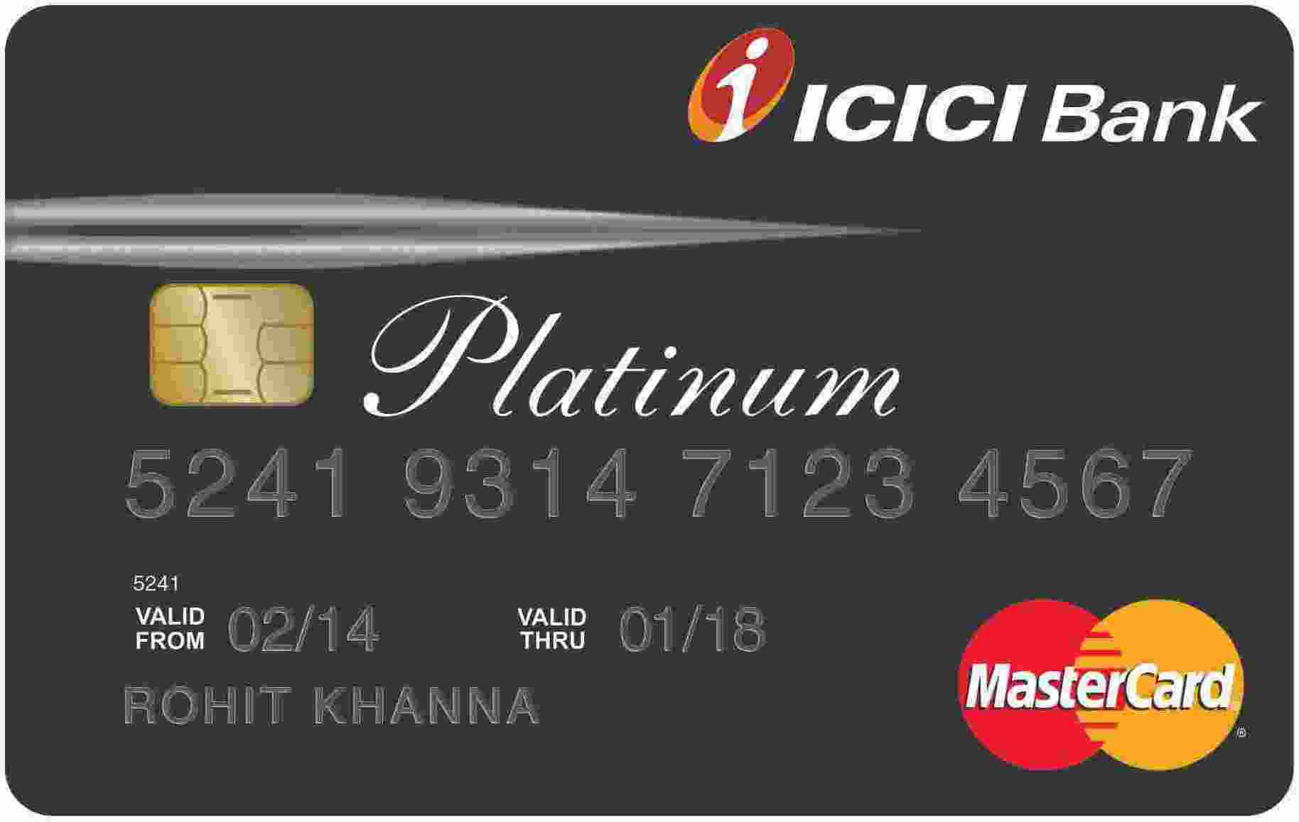 ICICI Bank™ Platinum Chip Credit Card