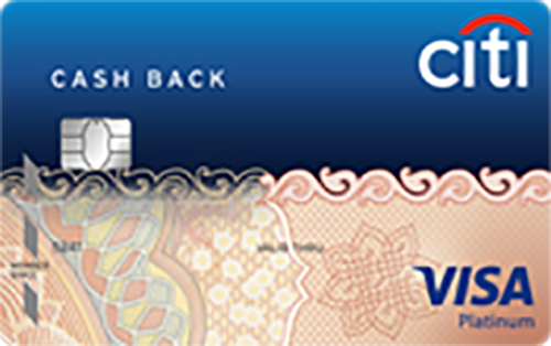 Citi™ Cash Back Credit Card
