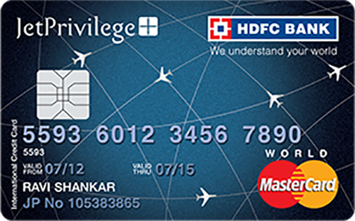 Jet Privilege HDFC Bank World Credit Card