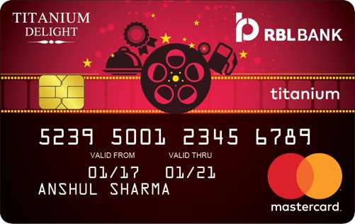 RBL™ Bank Titanium Delight Credit Card