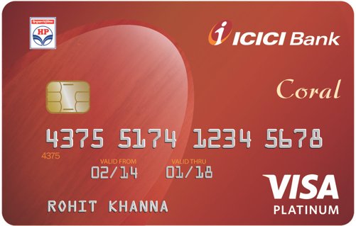 ICICI Bank™ HPCL Coral Credit Card