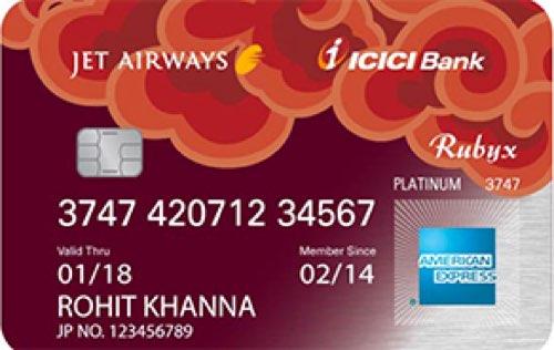 Jet Airways ICICI Bank™ Rubyx American Express™ Credit Card