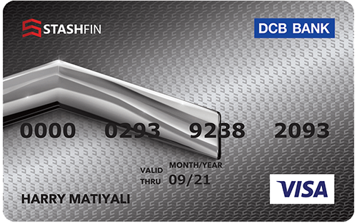 StashFin™ Silver Visa Card