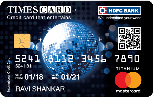 HDFC Bank Titanium Times Card