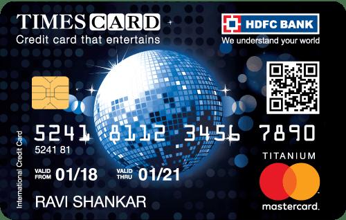 HDFC Bank Titanium Times Card