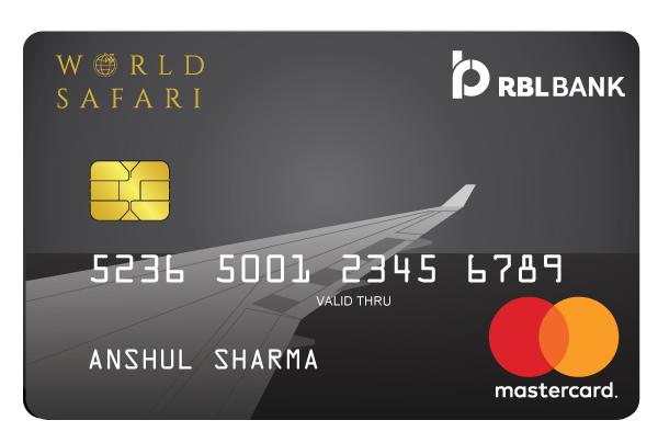 RBL World Safari Credit Card