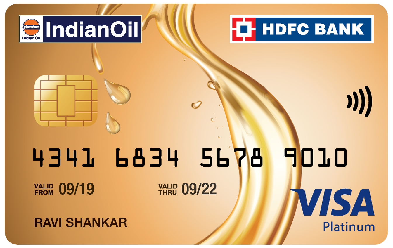 Indian Oil HDFC Card