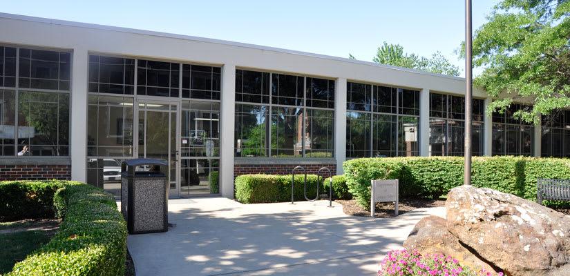 Campus Safety Building Entrance
