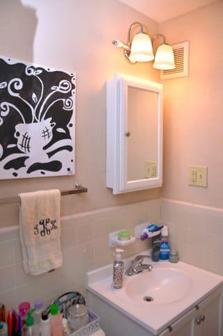 CBU Avery Apartments Bathroom