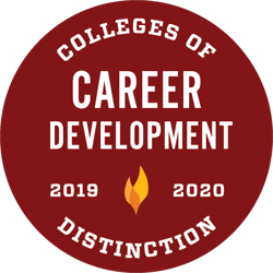 Colleges of Distinction award for Career Development 2019-2020