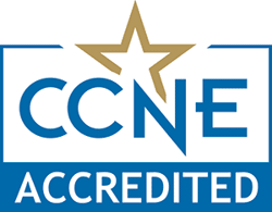CCNE Nursing Accreditation Seal