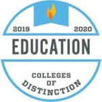 Seal for the top education colleges of distinction of 2019-2020