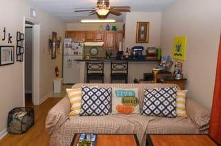 CBU Avery Apartments Living room