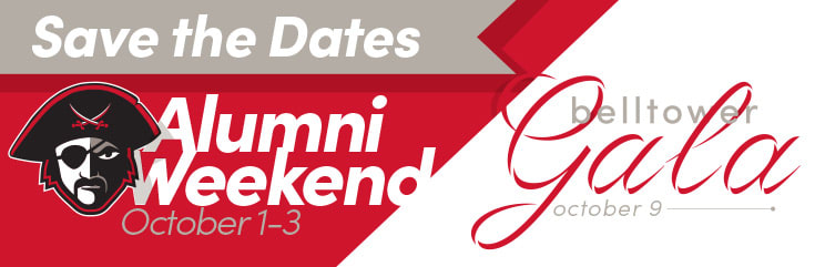 Save the Date for Alumni Weekend and the Bell Tower Gala