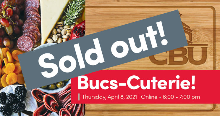 Bucs-Cuterie is Sold Out!