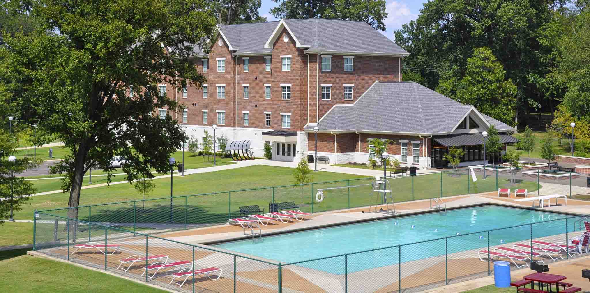 Canale Pool at CBU
