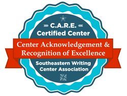 Center Acknowledgement & Recognition of Excellence badge