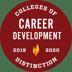 Colleges of Distinction award for Career Development 2019-2020