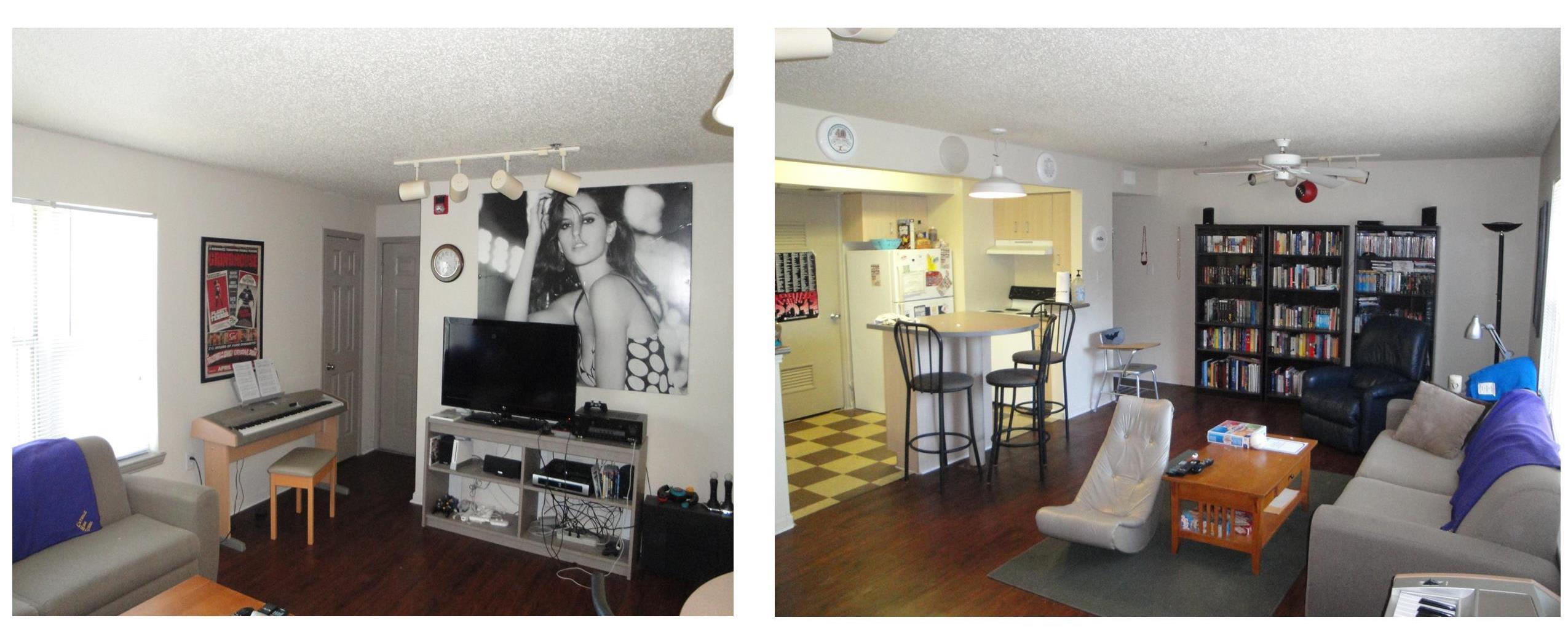 Capstone Apartment Rooms