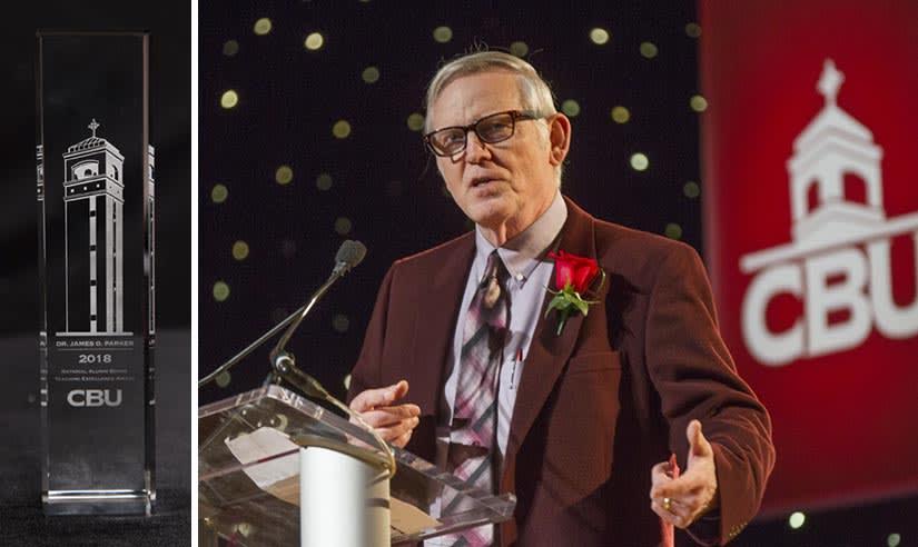 Dr. James Parker Teaching Award
