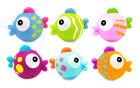 6 SPRUTEDYR TROPICAL FISH