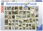 PUSLESPILL ANIMAL STAMPS 3000