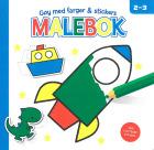 MALEBOK BLÅ 2-3 ÅR
