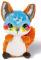 NICIDOOS BLINKING FOX 16 CM