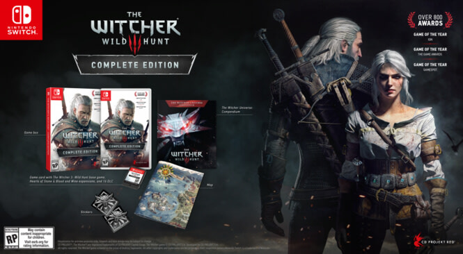 The Witcher 3 Akan Rilis Di Nintendo Switch