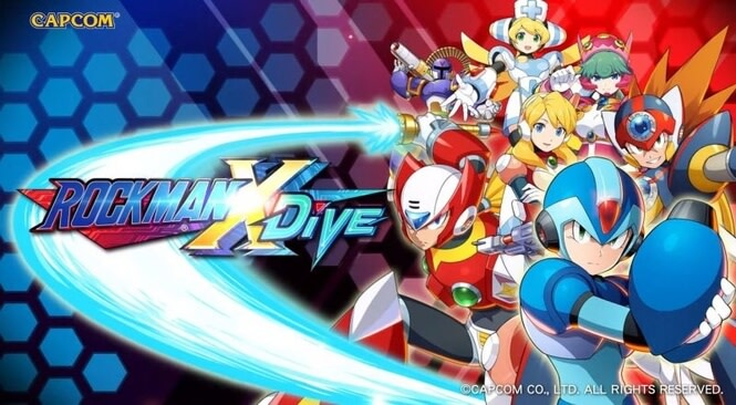 Capcom Umumkan Game Mega Man X Dive