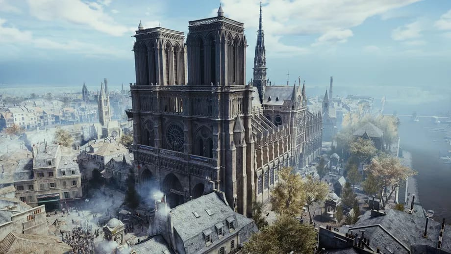 Restorasi Katedral Notre Dame Dibantu Data Assassin's Creed