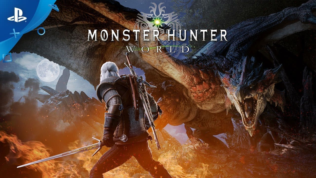 Geralt of Rivia Hadir di PC Monster Hunter World