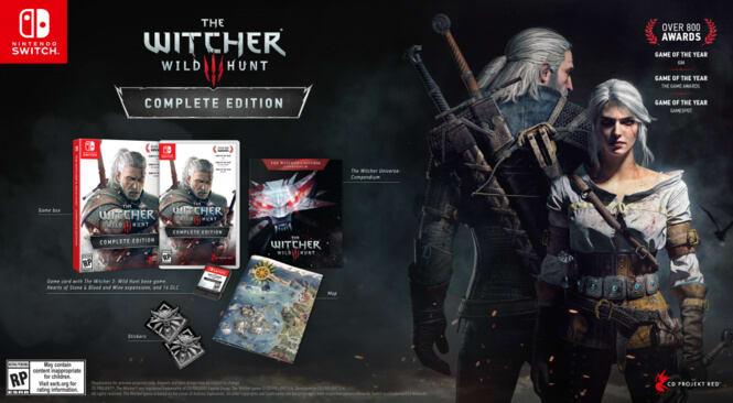 The Witcher 3 Akan Rilis Di Nintendo Switch