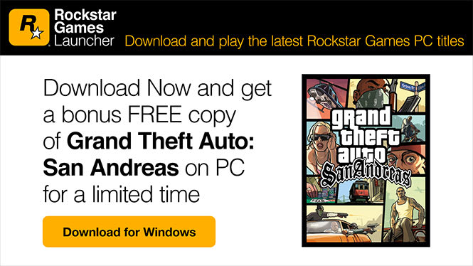 Rockstar Games Rilis Launcher Game PC Sendiri