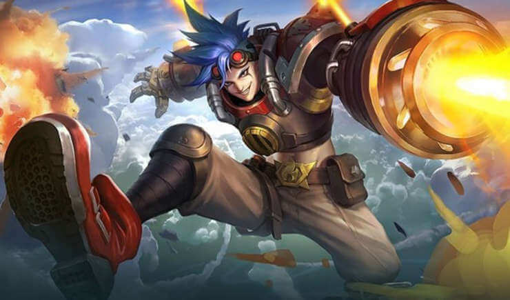 X Borg Hero Baru Fighter Mobile Legends