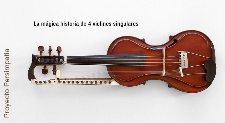 Persimpatia: en busca de 4 violines mágicos.