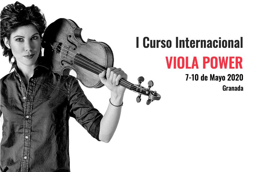 I Curso Internacional Viola Power con Isabel Villanueva