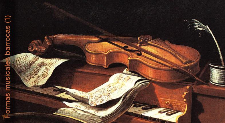 Formas musicales barrocas: Gavota, Minueto, Corrente…
