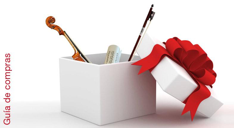 Ideas para regalar a un violinista