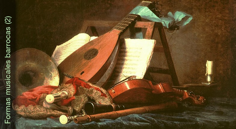 Formas musicales barrocas 2ª parte: Allemande, Giga…
