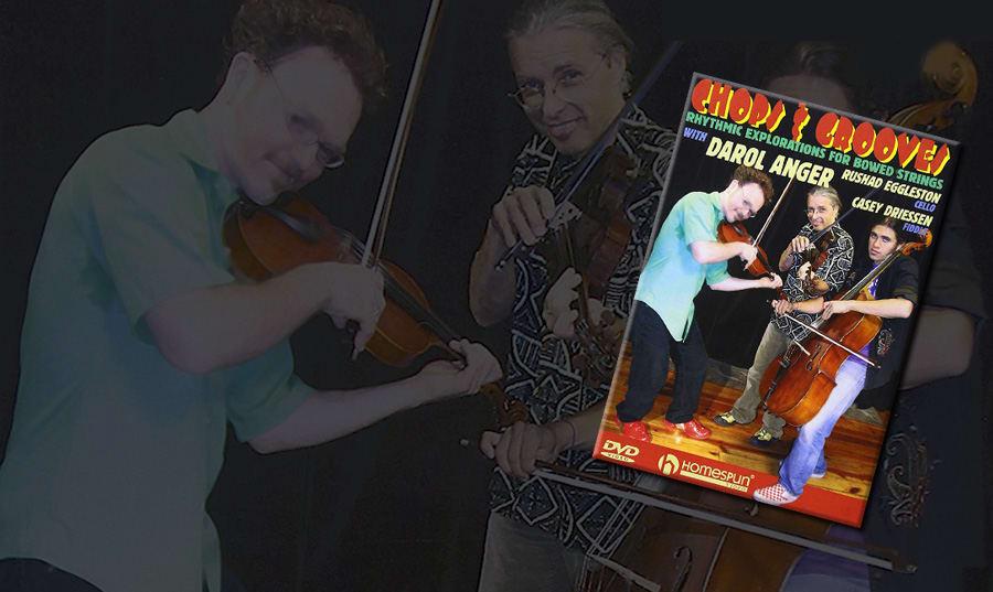 Aprendiendo <em>chops</em> y <em>grooving</em> con Casey Driesen, Darol Anger y Rushad Eggleston