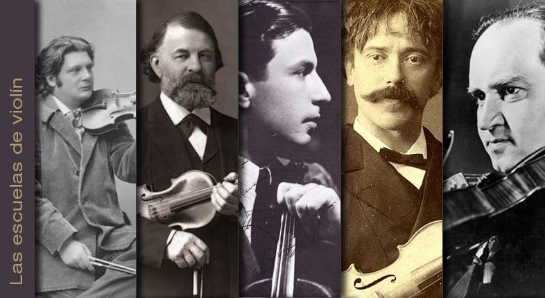 Escuelas de violín / las dos almas del violinista