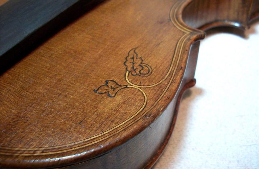 Fileteado del violín