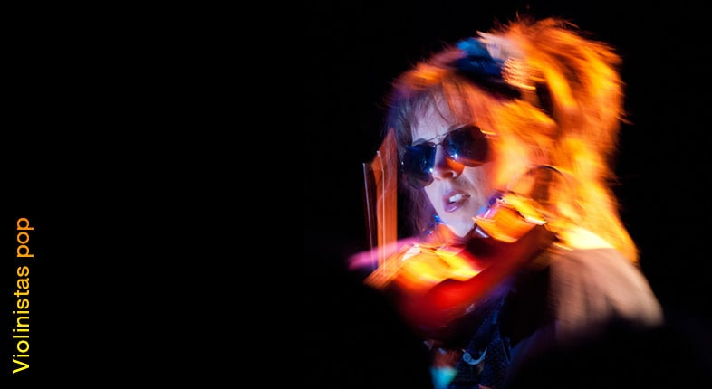 El fenómeno de las violinistas pop