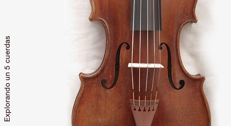 El violín de 5 cuerdas