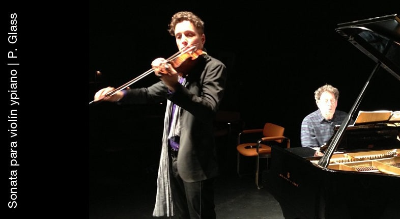 Sonata para violín y piano   Philip Glass