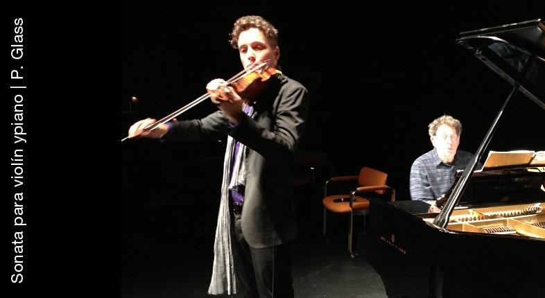 Sonata para violín y piano | Philip Glass